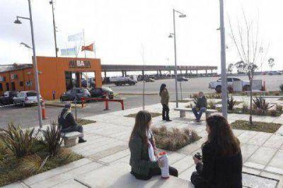 AUBASA: inauguraron un espacio de descanso y esparcimiento en el peaje de Hudson