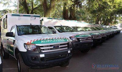 Millonaria inversi�n provincial para la compra de ambulancias para hospitales