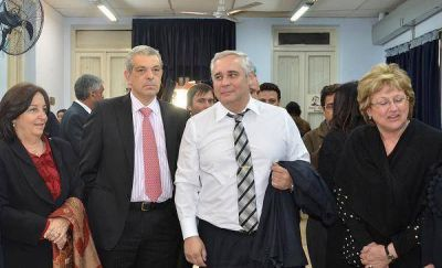 Fabián Ríos y Julián Domínguez presentarán mañana el Observatorio Cuestión Malvinas del Litoral