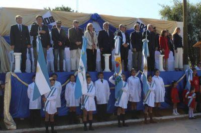 Vischi encabezó el acto por el 106 aniversario de la fundación de San Lorenzo
