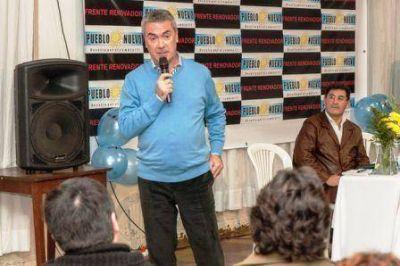 Calamari lanzó su candidatura a gobernador
