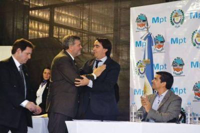 Pan American cedió el polideportivo a la Municipalidad de Pico Truncado
