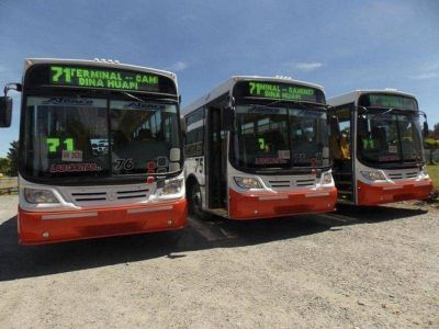 Recién en enero o febrero el municipio prevé llamar a licitación por Transporte Urbano de Pasajeros