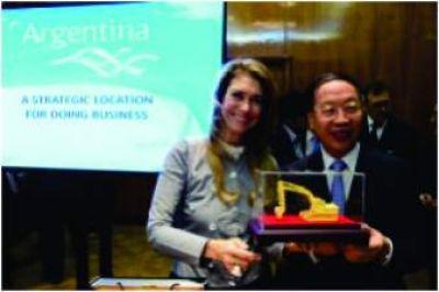 Giorgi se reunió con el viceministro de Industria de China