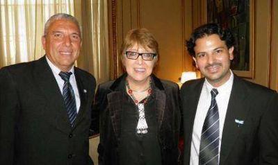 El intendente Bassi relizó gestiones ante Teresa Parodi