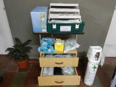 Entrega de insumos para el cuidado sanitario en Centros de Salud Municipales