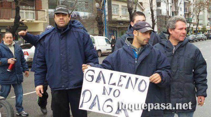 Una protesta del SUPA gener� caos en el tr�nsito