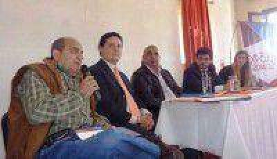 Moises pidió a los empresarios sanpedreños formar parte de la EXPOJUY 2014