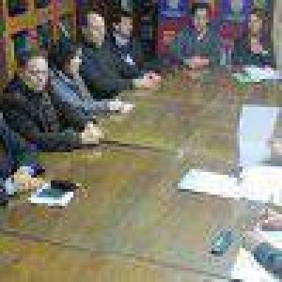 Primera reunión de la Junta Electoral de la consulta popular