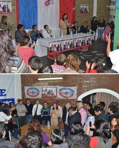 Elecciones municipales: Continúa la intensa actividad de los candidatos del Frente Cívico en La Banda