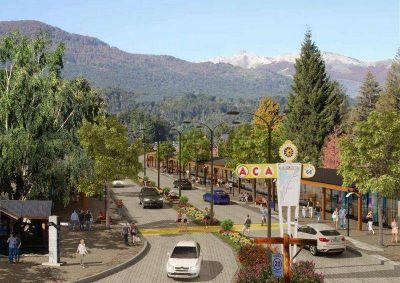 Villa la Angostura proyecta construir un Centro Comercial a Cielo Abierto