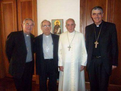 Francisco envió bendiciones a fueguinos y santacruceños