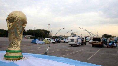 Los argentinos sumaron más de un millón de dólares en multas durante el Mundial