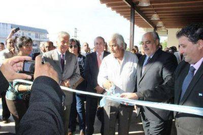 Junto a su par de Córdoba, el gobernador Colombi inauguró obras en la Terminal de Ómnibus de Itatí