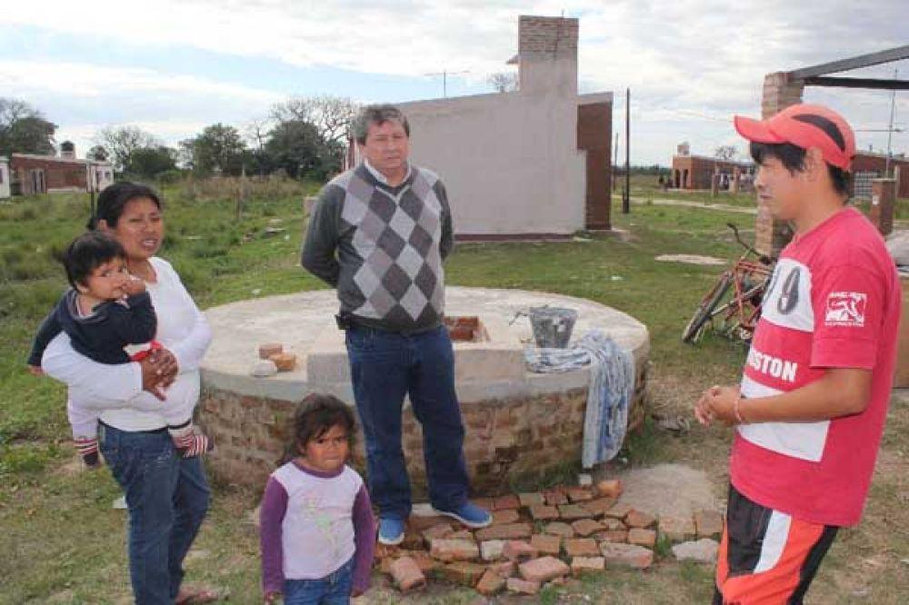 Acosta se reunió en Las Palmas con dirigentes indígenas de la etnia QOM