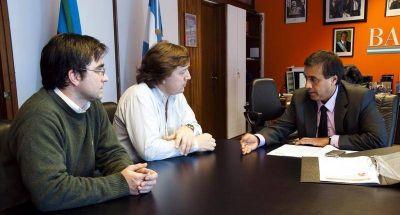 Concejales locales estuvieron reunidos con el Ministro de Desarrollo Social