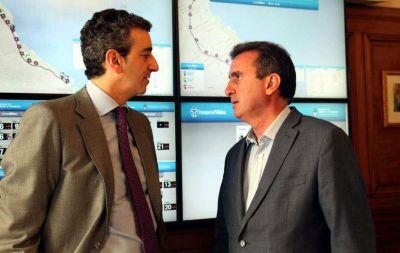 Con la mira en 2015: Pérez se volvió a reunir con Randazzo