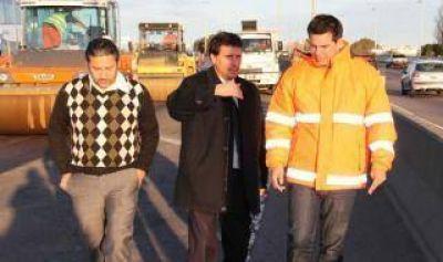 Comenzó la repavimentación de la Autopista La Plata-Buenos Aires