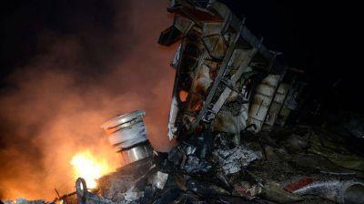 No apto para impresionables: las fotos de la tragedia de Malaysia Airlines