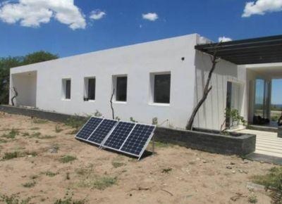 Instalaron paneles solares en el departamento Junín