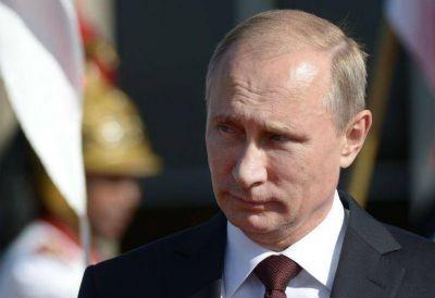 """Putin envió sus """"sinceras condolencias"""" a los familiares de las víctimas"""