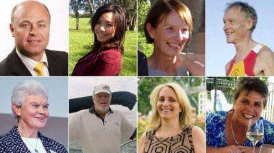 Quiénes viajaban en el vuelo MH17, derribado por un misil en Ucrania
