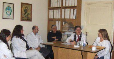 Collia visitó y supervisó las mejoras en el hospital Interzonal de Mar del Plata