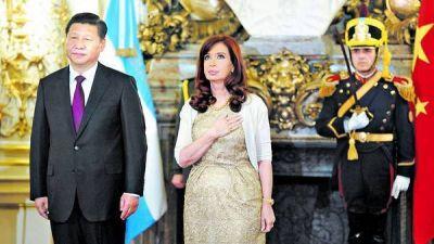 Cristina firm� acuerdos con China por US$ 18.000 millones