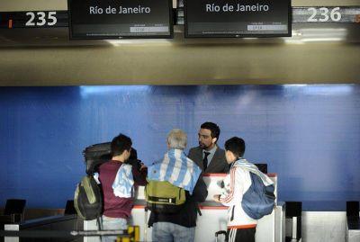 Más de 80.000 argentinos viajaron en avión al Mundial