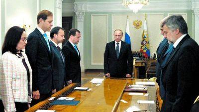 Putin pidió un alto el fuego y apoyó al presidente ucraniano