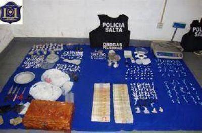 La Provincia incautó 97 kilogramos de cocaína, sólo en causas por microtráfico