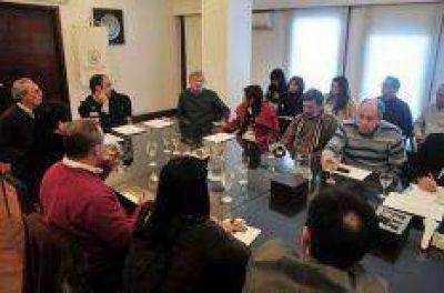 Creciente del río: el Comité de Riesgo evaluó la situación