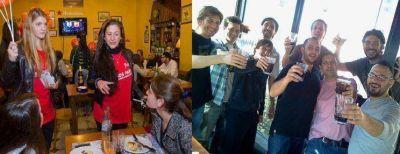 En bares y plazas, de tarde y de noche: Rosario vive el Día del Amigo