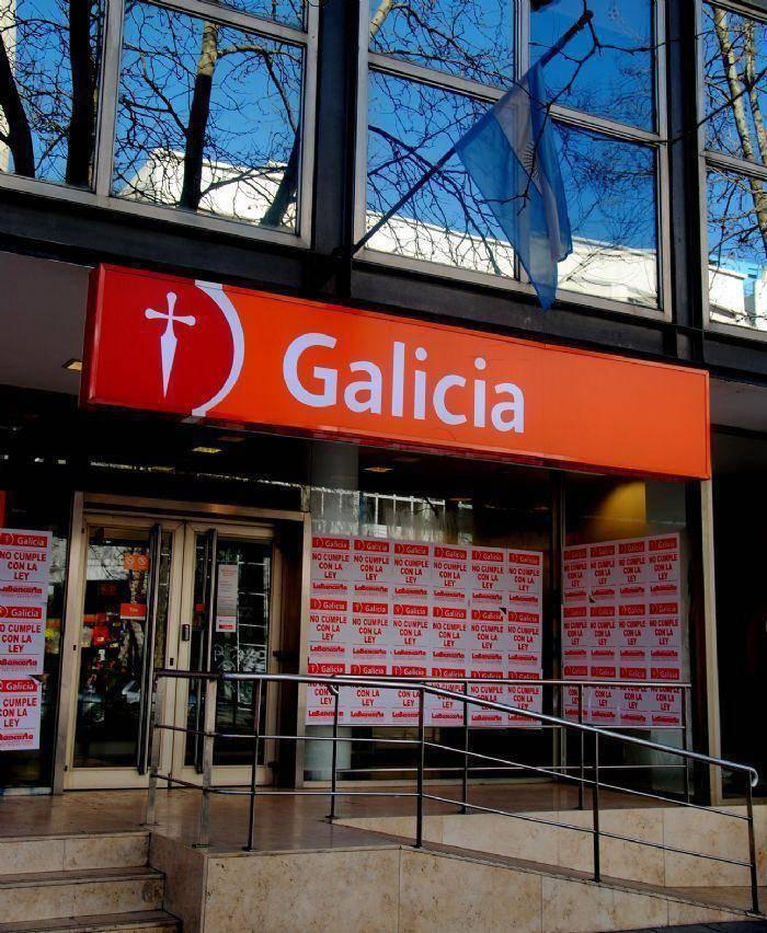 foto banco galicia: