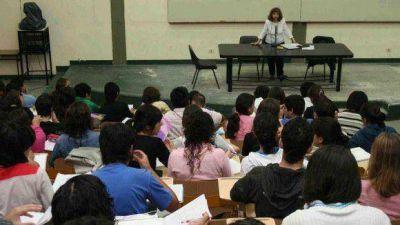 Estamento estudiantil quitó apoyo a la lucha docente y pide el regreso a clases