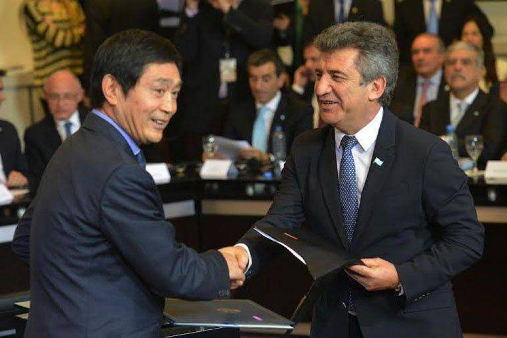 Urribarri destacó el apoyo internacional por los fondos buitre