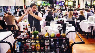 Los restaurantes se renuevan para sumar la barra de tragos