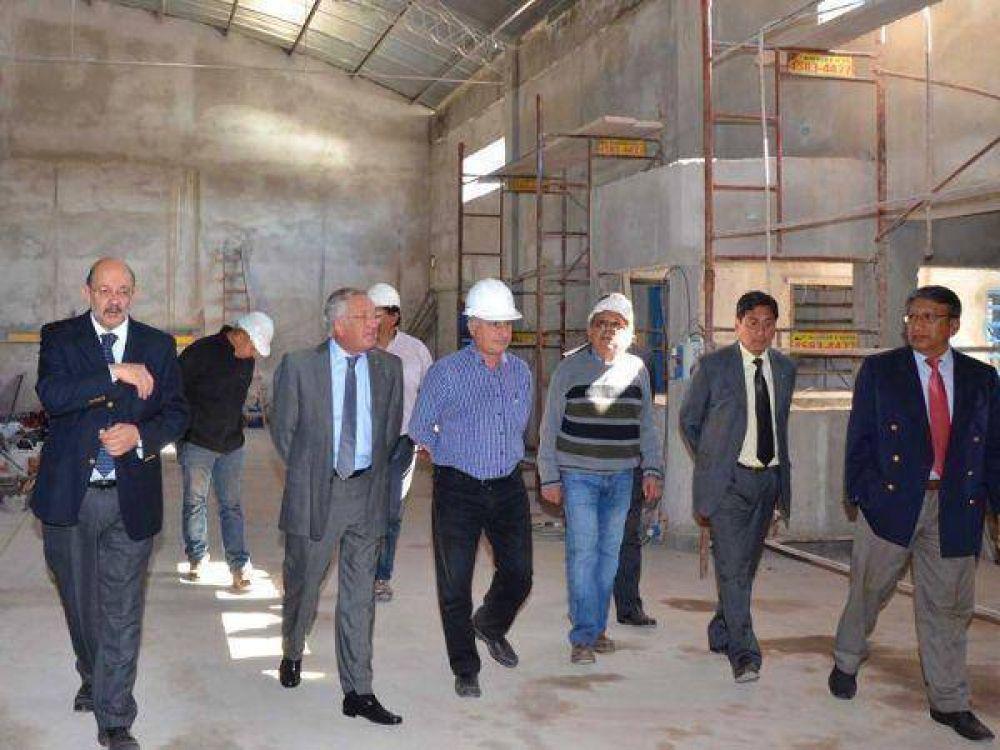 Servicio Penitenciario – Matuk ponderó las obras de Alto Comedero