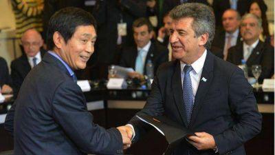 Urribarri tras firmar acuerdo con China: