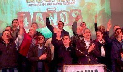 Alicia Kirchner encabezó acto por aniversario de Kolina con diversos dirigentes kirchneristas