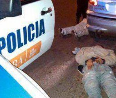 Detuvieron a un asaltante que se resistió a los tiros
