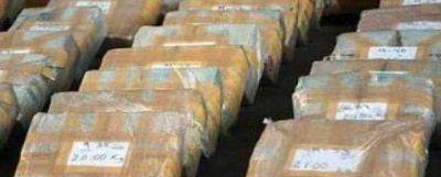 Incautaron 97 kilos de cocaína sólo en causas por microtráfico