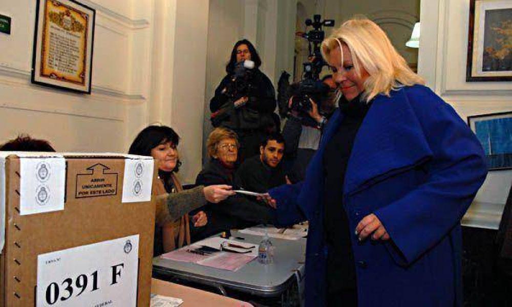 Para Carrió, el pueblo debe decidir si es candidata en 2011