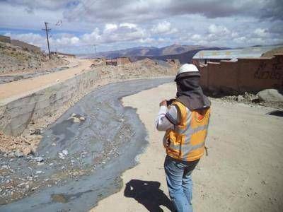 Funcionarios bolivianos recorrerán el río Pilcomayo para analizar la contaminación