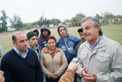 Pablo Mirolo y Hector Ruiz inauguran obras en barrios bandeños