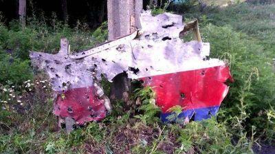 Una foto de los restos del avión derribado en Ucrania prueba que fue atacado por un misil