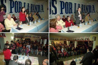 Contundente apoyo de distintos sectores de La Banda a la formula Nassif-Adamo