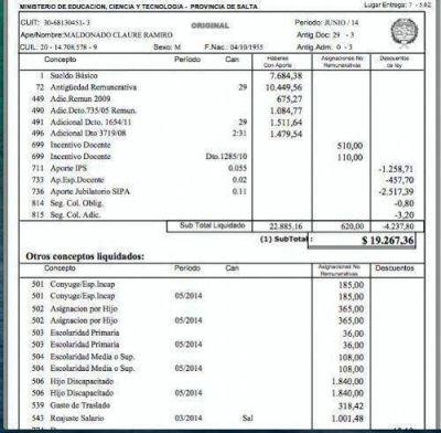 $22 mil: El sueldo del agitador docente Maldonado Claure