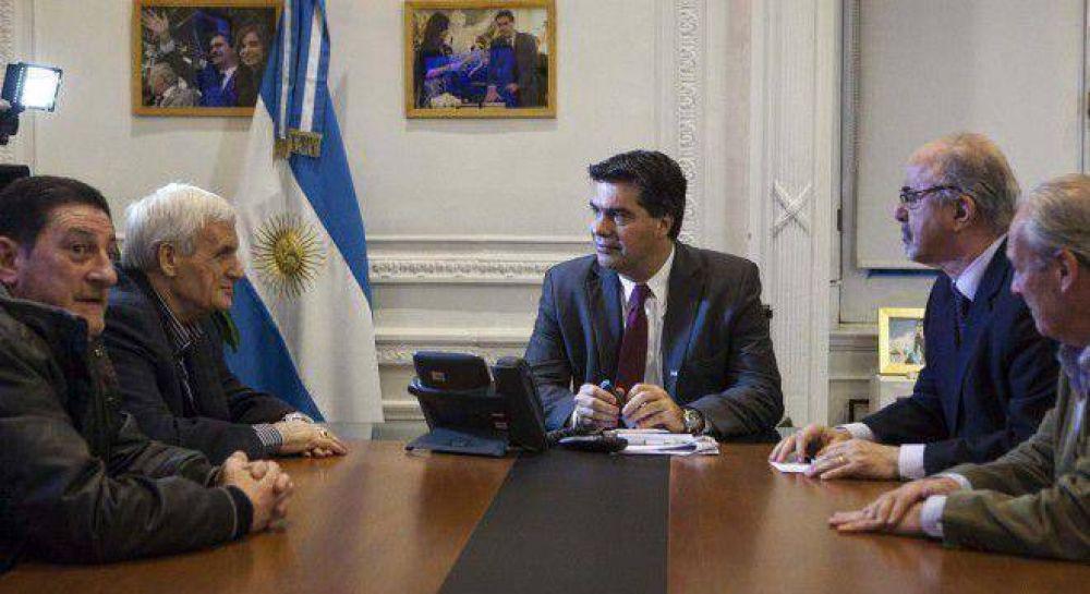 """Caló se fue sin hablar de la Casa Rosada y advierten """"el fin de la CGT oficial"""""""