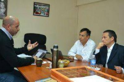 Autoridades de Yamana Gold se presentaron ante la Provincia